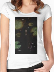 black lake Women's Fitted Scoop T-Shirt