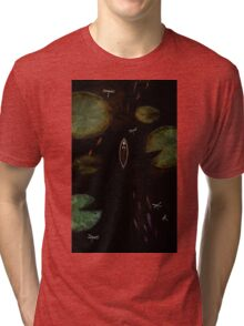 black lake Tri-blend T-Shirt
