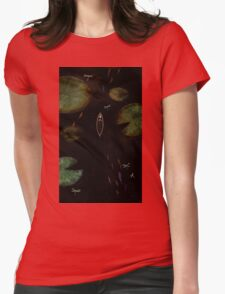 black lake Womens Fitted T-Shirt