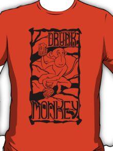 Drunk Monkey T-Shirt