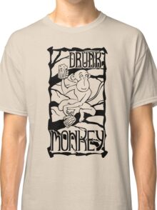 Drunk Monkey Classic T-Shirt