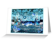 ~ Out Of The Blue ~ Greeting Card