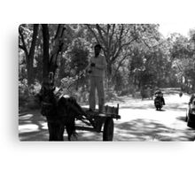 Horse Cart Riding !! - Indian Highways Canvas Print