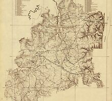 Shiloh National Military Park Tennessee Map (1934) by allhistory