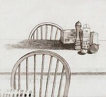 Kitchen Table Still by DelitefulDee