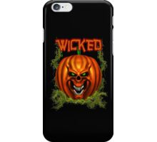 Manic Pumpkins .. Wicked iPhone Case/Skin