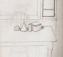 Dining Room Still Life by DelitefulDee