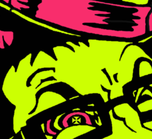 Cartoon Face Sticker