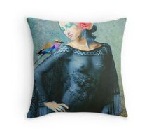 Rose's Gypsy Soul Throw Pillow
