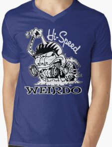 Hi Speed Weirdo Mens V-Neck T-Shirt