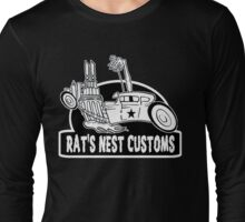 Rat's Nest Customs Long Sleeve T-Shirt