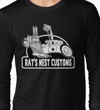 Rat's Nest Customs Long Sleeve T-Shirt