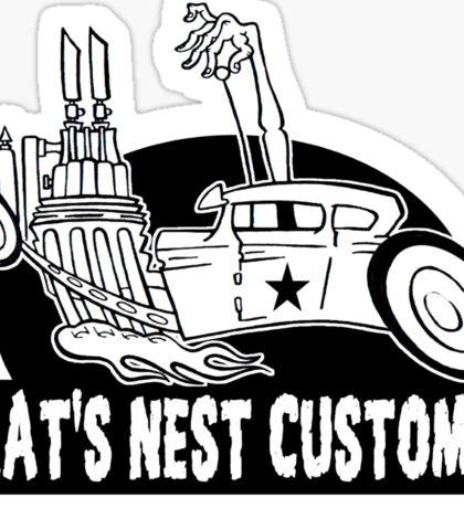 Rat's Nest Customs Sticker