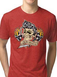Rockabilly Rebel Tri-blend T-Shirt