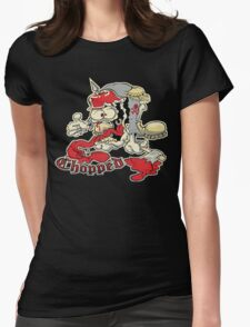 Chopped Monster Womens Fitted T-Shirt