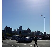 Blue Sky City Photographic Print