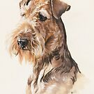 Airedale by BarbBarcikKeith