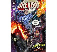 SheVibe Presents - Dean Elliott, The Sliquid Lubricator Cover Art Photographic Print