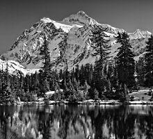 Mt. Baker Mono Splendor by Tom Davidson