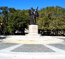 Fort Sumter Statue- Charleston SC by anchorsofhope