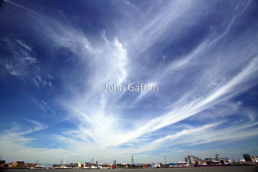 Greenwich Peninsula Cloudscape by John Gaffen