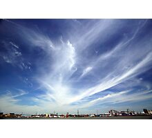 Greenwich Peninsula Cloudscape Photographic Print