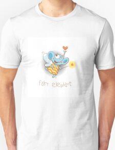 Fairy elephant. Unisex T-Shirt