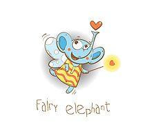 Fairy elephant. Photographic Print