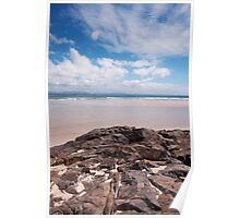 Byron Bay Rocks Poster