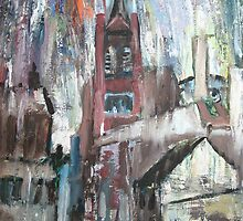 """""""The Hidden Gem (St. Mary's, Mulberry Street, Manchester)"""" by William Turner by PhotosForSale"""