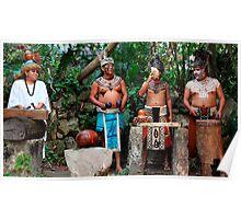mayan group Poster