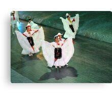 mexican dancers Canvas Print