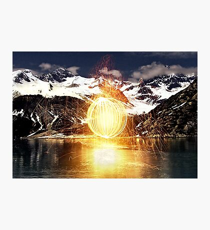 Elements Collide II Photographic Print