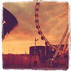 Sunset - Albert Docks Liverpool by lilnicki4