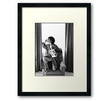 """Two / """"Elementary, My Dear Watson"""" Framed Print"""