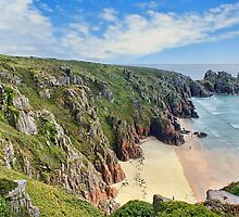 Porthcurno by DMitchell