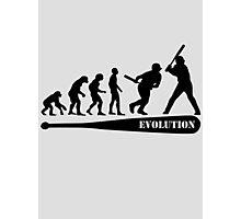 Baseball Evolution Photographic Print