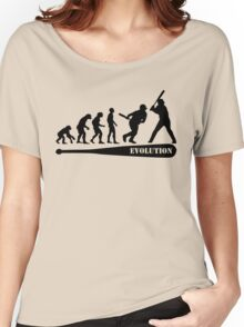 Baseball Evolution Women's Relaxed Fit T-Shirt