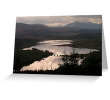 Loch Garry - Lochaber Greeting Card