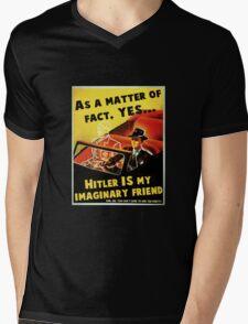 Imaginary Hitler Mens V-Neck T-Shirt