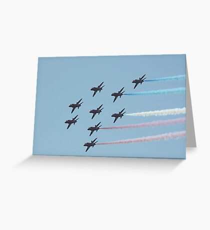 Red Arrows 1 Greeting Card