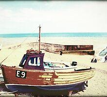 Boats Ahoy! 4 by Michaela  Benz