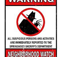Elm Street Neighborhood Watch by hordak87