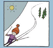 Ski Fun Kid's T-shirt Kids Tee