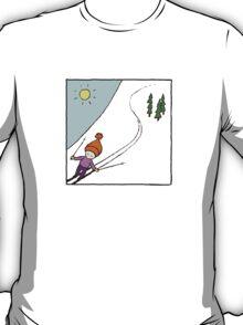 Ski Fun Kid's T-shirt T-Shirt