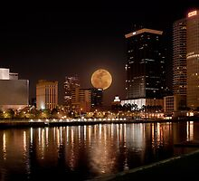City of Tampa Nightscape by james smith