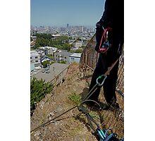 Urban Climbing  Photographic Print