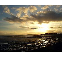 Strangford Sunset Photographic Print