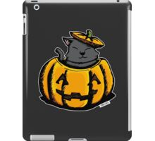 Cute Pumpkin Cat Halloween iPad Case/Skin