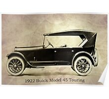 1922 Buick Poster